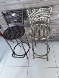 Banco e cadeira alta pra bancada em varios modelos