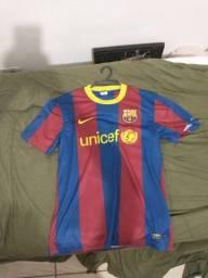 Camisa do Barcelona uniforme principal