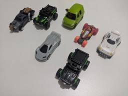Coleção de carros de brinquedo