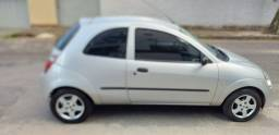 Ford Ka GL 1.0 Zetec Rocam 2004 prata COMPLETO