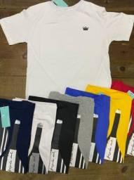 T-shirts Osklen e Tommy Hilfiger primeira linha