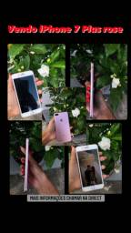 IPhone 7 Plus rose 128 gb