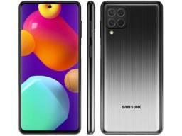 Título do anúncio: Samsung Galaxy M62 128GB Preto com Nota Fiscal e Garantia