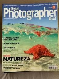 Coleção de 43 revistas e 1 livro de fotografia em ótimo estado