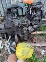Motor do Mercedes 1519
