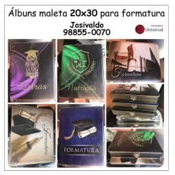 AlAlbuns maleta para formatura 20x30