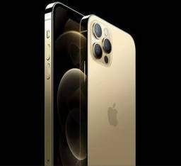 IPhone 12 pro max 128 dourado (novo)