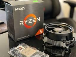 Título do anúncio: Processador AMD Ryzen 5 5600x impecável!
