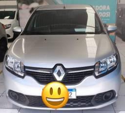 Renault Sandero Expr 1.0 => Branco, Final de Placa 2, Flex e Completo (Excelente Estado)