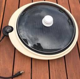 Grill elétrico redondo - George Foreman ? 127 V ? 1340 W  usado