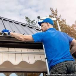 Calhas e rufos reparo de telhados