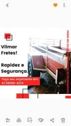 Frete em Joinville e Região rapidez e segurança