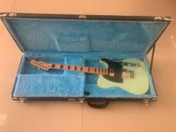 Telecaster Fender green surf