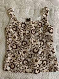 Linda camisa bordada M - entrego