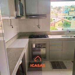 Apartamento para venda com aproximadamente 60 metros quadrados no Canaã - 1ª Seção - Ibiri