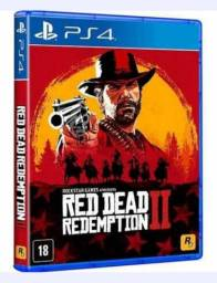 PS4 Red Dead Redemption 2 Discos