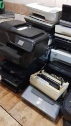Lote 25 Impressoras Scaner Desfragmentador e Auto Transformador