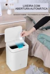 Título do anúncio: Lixeira Inteligente Automática C/ Sensor Recarregável 13 Litros