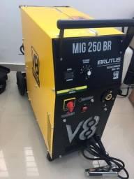 Máquina de Solda MIG 250 Brutus Monofásica