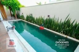 Casa no Terras Alphaville em Teresina com 250 m2 e Piscina. 3 Suítes + dependência