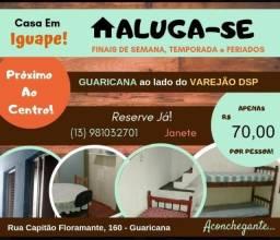 Alugo casa Iguape p finais de semana é temporada