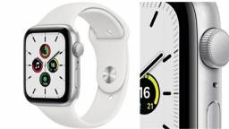 Appe watch  SE silver aluminum Case  White Sport Band 44 MM