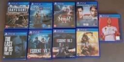Jogos de PS4 Playstation 4!!!