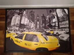 Quadro decorativo Táxi amarelo Nova York