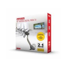 Título do anúncio: Antena Digital Externa + Cabo + Mastro De Fixação Shd 8000k Brasforma