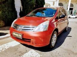 Nissan Livina S 1.6 Flex Vermelho Completo Doc Ok Mecanica Ok