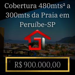 Cobertura 480mts² a 300mts da Praia em Peruíbe-SP
