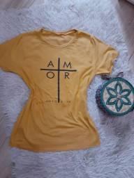 Tshirts na malha sued