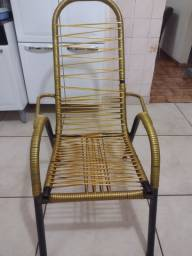 Cadeira de corda usada