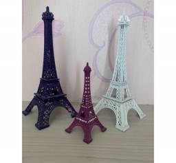 Esculturas Torre Eiffel Metalizadas