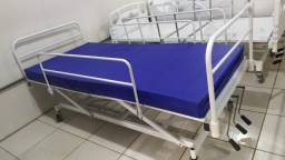 Cama Hospitalar 03 Manivelas Nova