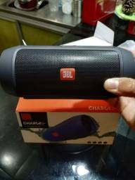 Caixa De Som Jbl Charge 2 Pendrive Bluetooth radio Sd Oferta 40w