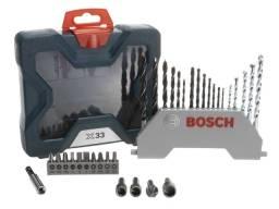 Maleta De Ferramentas Bosch 33 Peças X-line 33