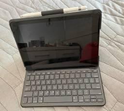 Ipad 6 128gb com teclado e apple pencil