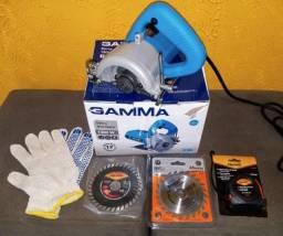 Título do anúncio: Serra Mármore 1300W com Kit de Refrigeração - Gamma 110vts