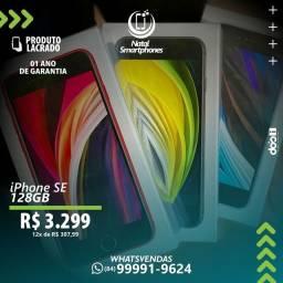 IPHONE SE - 2 GERAÇÃO ( TODAS AS CORES )+ 1 ANO GARANTIA ( COM 128GB )