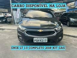 GM Onix LT 1.0 Hatch Compl 2018 Com Kit Gás