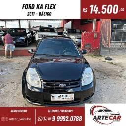 Título do anúncio: Ford ka 1.0 2011 básico !!