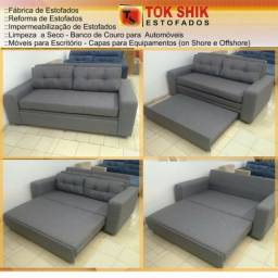 Sofá cama excelente, sofá com altíssima qualidade em sofá cama loja da fábrica