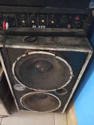 Caixa de som mas amplificador