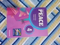 LIVRO DE INGLES - PEACE 4 - NOVO