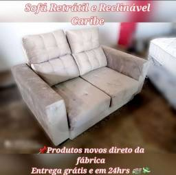 Título do anúncio: sofá sofá sofá retrátil e reclinável -promoção de fabrica ##