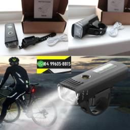 ®Lanterna Bike Farol Bike 300 Lúmens