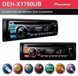 Cd / Mp3 Player Mixtrax Pioneer Deh-x1080ub