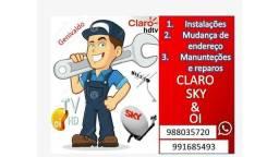 Somos fortes técnico Oi Claro e Sky