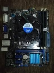 Kit Intel 1155 I3 com 8Gb DR3 + Brinde - Roda LoL, Pubg, BF, CS Gol